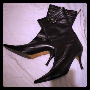 Banana Republic Brown Heeled Boots